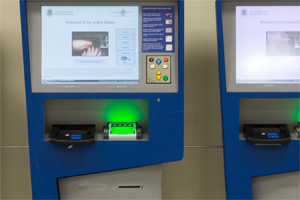 EZ Access hardware used in Global Access border patrol kiosk.